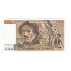 100 Francs Delacroix 1978 (100F191)