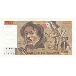 100 Francs Delacroix 1978 (100F194)