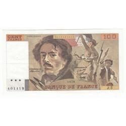 100 Francs Delacroix 1978 (100F195)