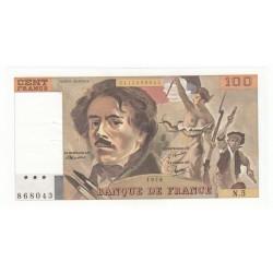 100 Francs Delacroix 1978 (100F197)