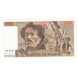 100 Francs Delacroix 1978 (100F198)