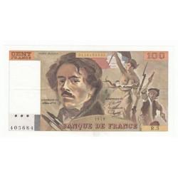 100 Francs Delacroix 1978 (100F202)