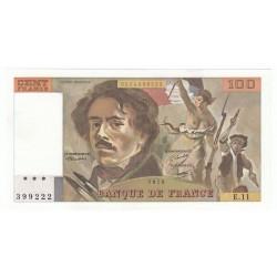 100 Francs Delacroix 1979 (100F209)