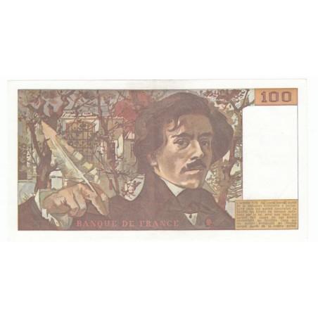 100 Francs Delacroix 1979 SUP+