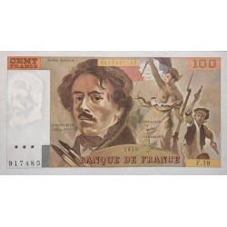100 Francs Delacroix 1979 (100F211)