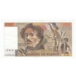 100 Francs Delacroix 1979 (100F213)