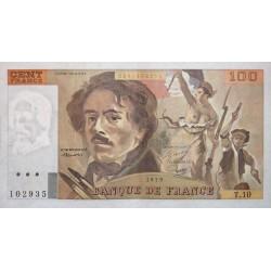 100 Francs Delacroix 1979 (100F215)