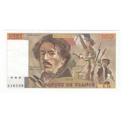 100 Francs Delacroix 1979 (100F216)