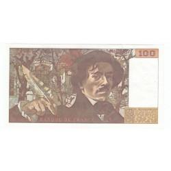 100 Francs Delacroix 1979 TTB+  FILIGRANE MOYEN Fayette 69-2bB