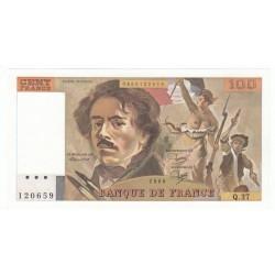 100 Francs Delacroix 1980 (100F220)