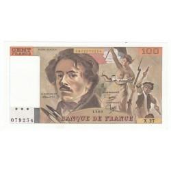 100 Francs Delacroix 1980 (100F223)