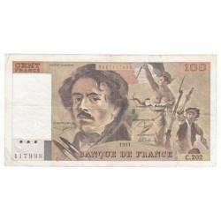 100 Francs Delacroix 1991 (100F230)
