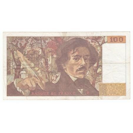 100 Francs Delacroix 1991 TB ALPH. C.202