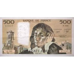 500 Francs Pascal 02/06/83 (500F055)