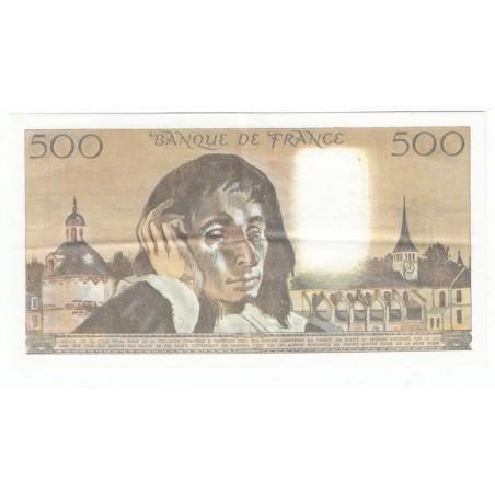 500 Francs Pascal 02-06-1983 SUP+ Fayette 71.29