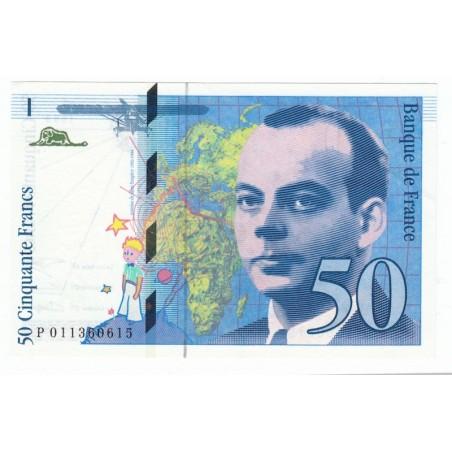 50 Francs Saint Exupery 1993
