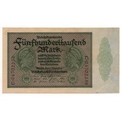 ALLEMAGNE 500.000 Mark 1 Mai 1923 TTB+  Ros 87