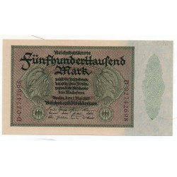 ALLEMAGNE 500.000 Mark 1 Mai 1923 SUP+  Ros 87