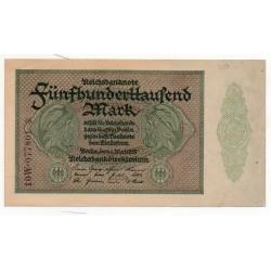 ALLEMAGNE 500.000 Mark 1 Mai presque Neuf 1923 Ros 87
