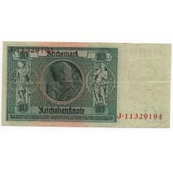 ALLEMAGNE 10  Reichsmark 22 Janvier 1929 TTB+ Ros 173