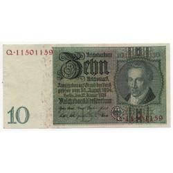 ALLEMAGNE 10 Reichsmark 22 Janvier 1929 SUP Ros 173